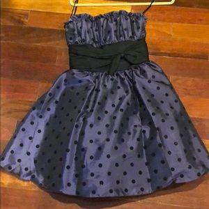 Betsy Johnson party dress strapless 4